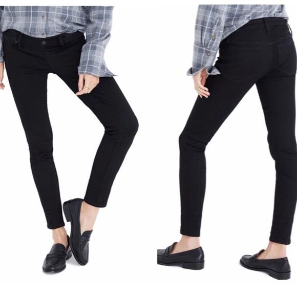 Madewell Denim - Madewell Maternity Jeans, Black Size 27